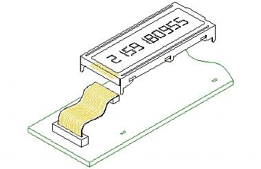 flat flex connector
